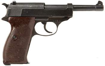 Пистолет Вальтер П38 (Walther P38)-left-side-jpg