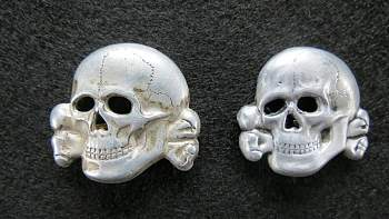 Черепа и орлы с фуражек СС.SS cap eagles and skulls-desch1-jpg